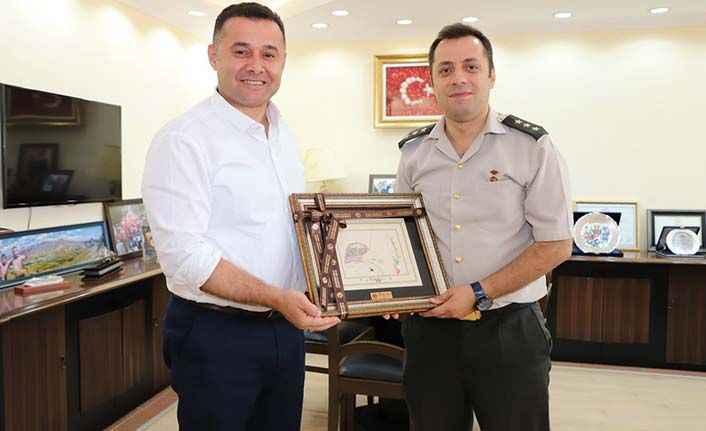Alanya Garnizon Komutanı'na veda: Kayseri'ye atandı