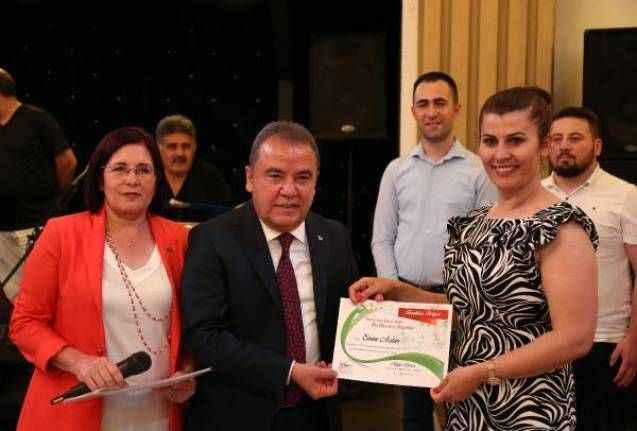 CHP'li kadınlara teşekkür