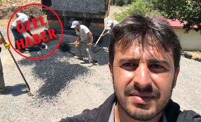 Yücel'den komşunun talebine jet onay: Gazipaşa'nın asfaltı Alanya'dan!
