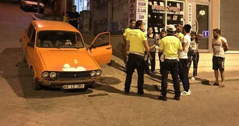 8 bin liralık otomobille 'drift' yapan sürücüye 7 bin lira ceza kesildi