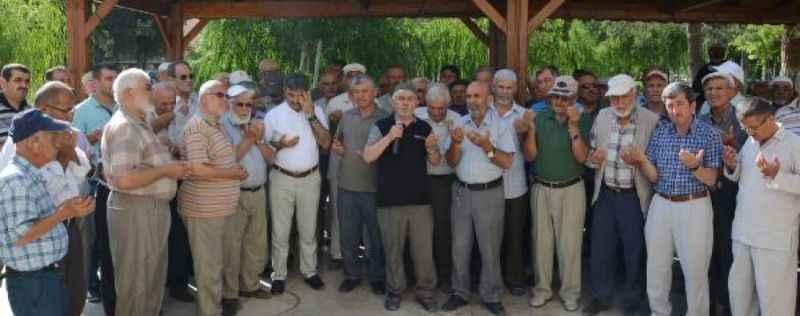 Hacı adayları törenle uğurlandı