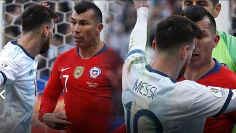 Messi ve Medel gerginliği! Geceye damga vurdu...