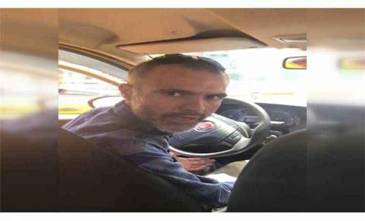 O taksi şoförü meslekten men edildi