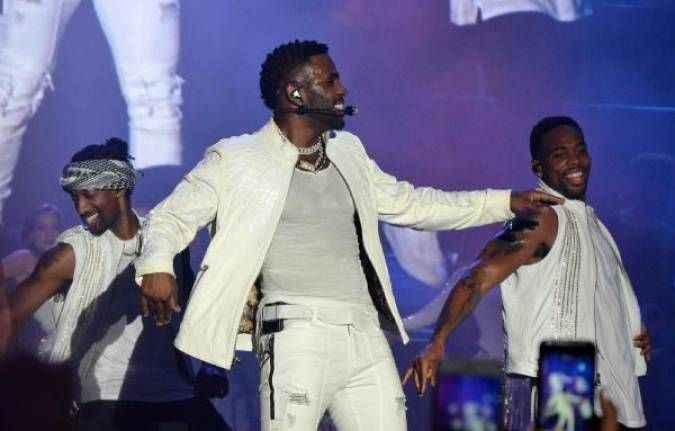 Jason Derulo, Antalya'da konser verdi