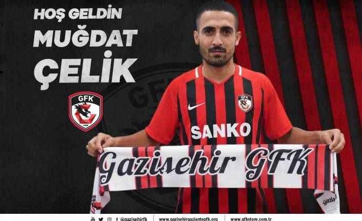 Gazişehir Gaziantep, Muğdat Çelik'i transfer etti