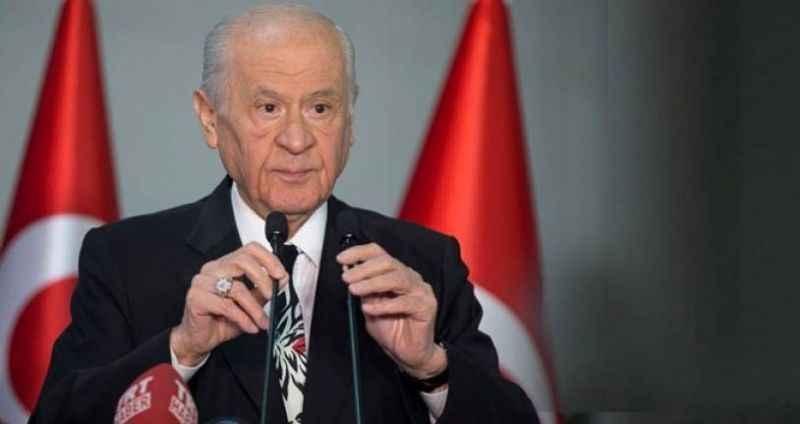 """Bahçeli'den Kılıçdaroğlu'nun """"başkanlık sistemi"""" önerisine jet yanıt"""