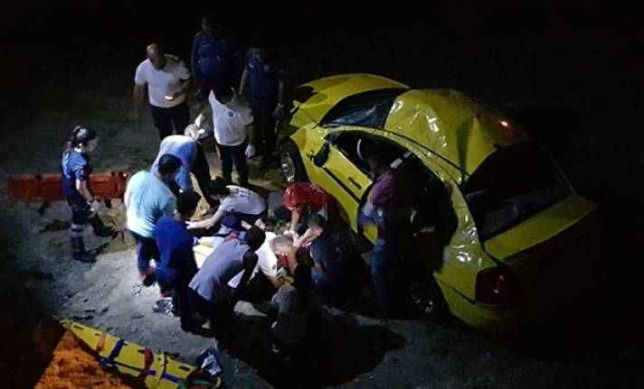 Kazada küçük kızın feryadı yürek dağladı!