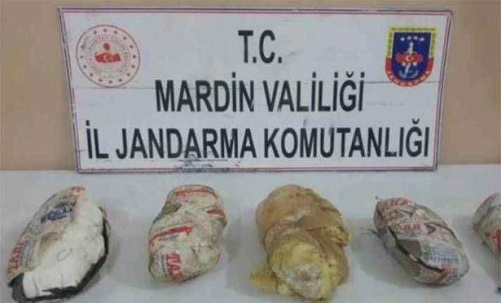 Yine ortalığı kana bulayacaklardı: PKK'ya ait patlayıcı...