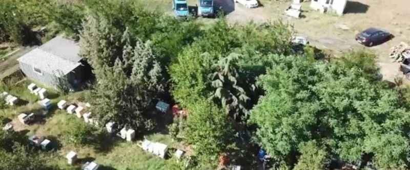 Kaçak içki üretilen çiftliğe 'drone' destekli operasyon