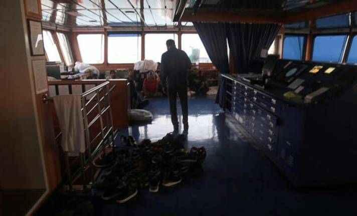 İran, el konulan İngiliz gemisinden görüntü yayınladı