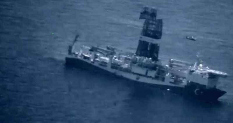 Türk Donanması Doğu Akdeniz'de! Görüntüler az önce paylaşıldı
