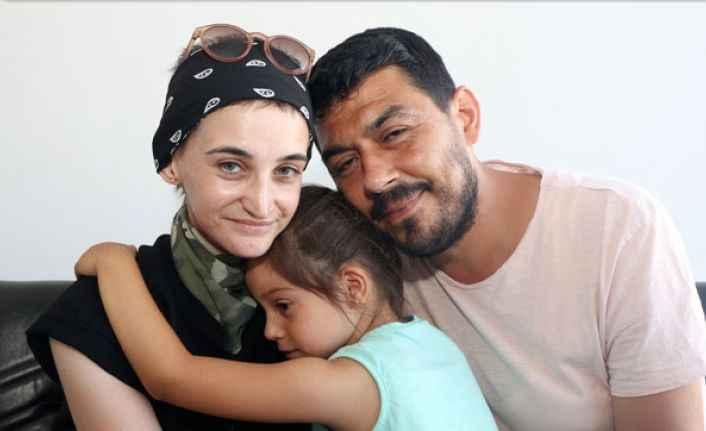 Antalya'da gırtlağı alınan annenin feryadı