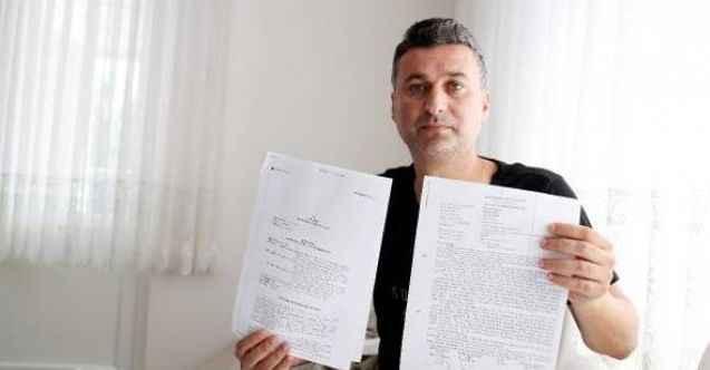 Antalya'da kredi çekmek isterken, kendini cezaevinde buldu