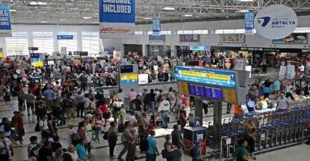 Antalya'da Ocak-Temmuz aylarında ziyaretçi sayısı yüzde 17 arttı