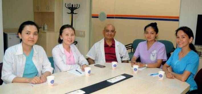 Kazakistanlı doktor adaylarının tercihi AÜ
