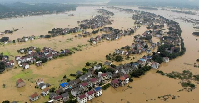 Çin'de ölümcül sel