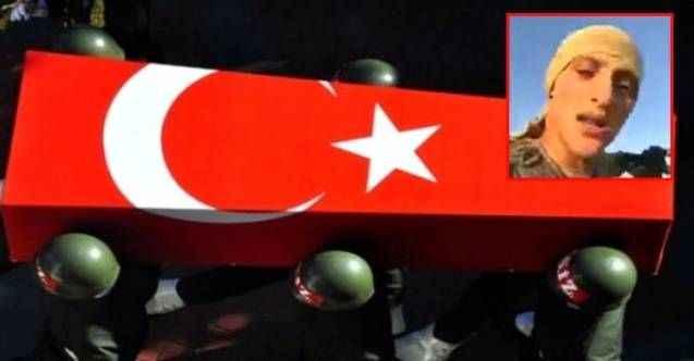 Şehit askerin sosyal medyada paylaştığı şiir, yürekleri dağladı!