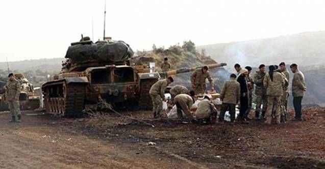 Afrin'deki üs bölgesine saldırı: 2 asker yaralandı