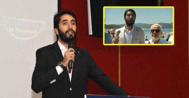 Milletvekili basın açıklaması yaparken depreme yakalandı: Yanındakiler tekbir getirdi