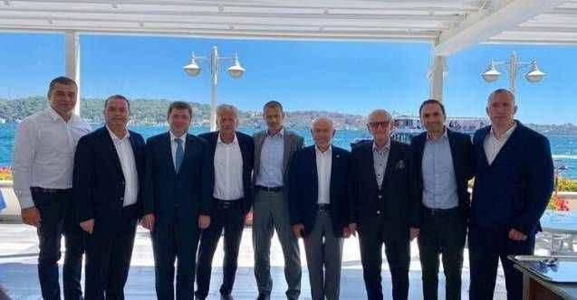 TFF Başkanı Nihat Özdemir, UEFA Başkanı Ceferin ile bir araya geldi