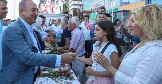 Bakan Çavuşoğlu'ndan Alanya'ya doğalgaz müjdesi