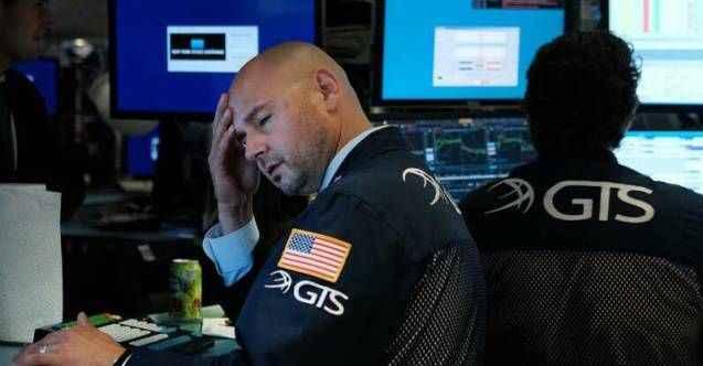 ABD borsaları 2019'un en kötü gününü yaşadı