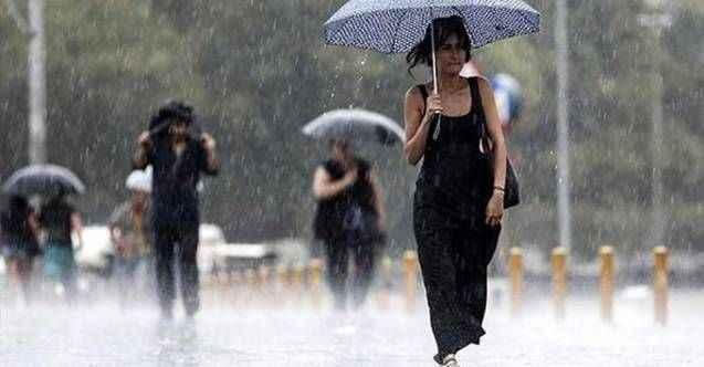 Meteoroloji uyardı! Şemsiyenizi unutmayın: Sağanak geliyor