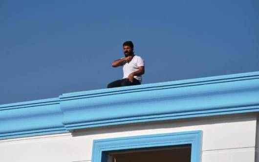 Antalya'da para alamayınca intihara kalkıştı
