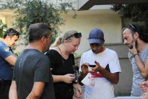Antalya'da kapkaç mağduru turist, yaşadıklarını çeviri programıyla anlattı