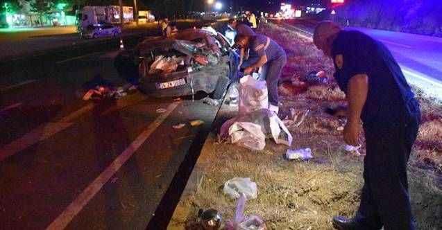 Feci kazada 40 günlük bebek öldü