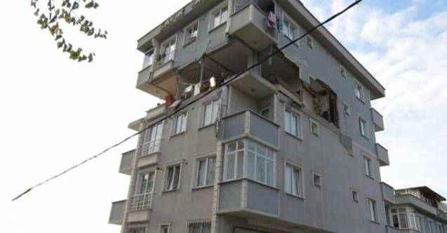 Binada patlama: Duvarlar yıkıldı, 1 kişi yaralandı