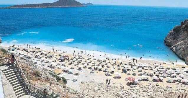 Kaputaş Plajı rekor kırıyor