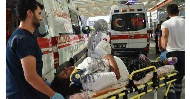 Antalya'da birlikte yaşadığı kadını,demir çubukla bayıltana kadar dövdü