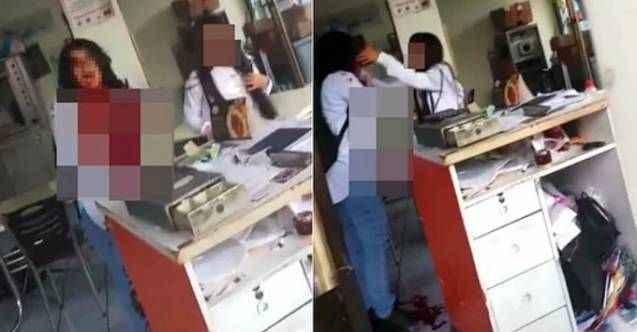 Eski eşi tarafından bıçaklanan kadının son görüntüsü: Ölmek istemiyorum