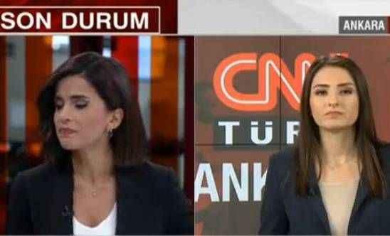 Türkiye'yi ayağa kaldıran haberi sunarken gözyaşlarını tutamadı