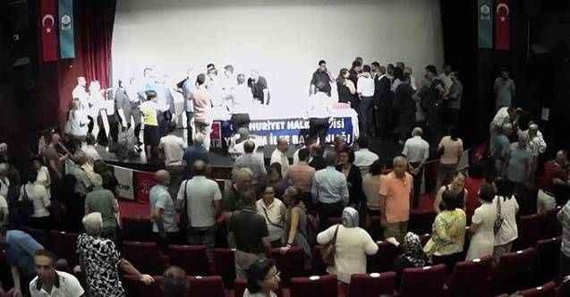 CHP toplantısında kavga: Yumruklar, hakaretler havada uçuştu