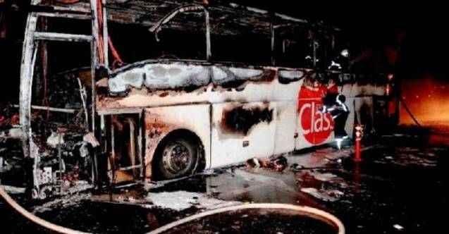 Yolcu otobüsü küle döndü: 31 yolcu...