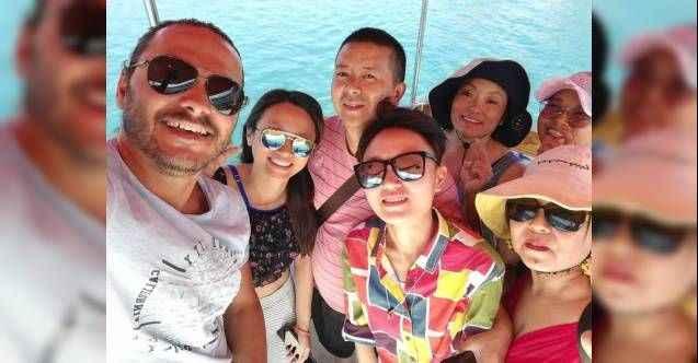Çinliler dalışta