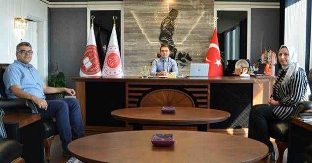 Başhekim Lakadamyalı'dan Başsavcı Emre'ye ziyaret