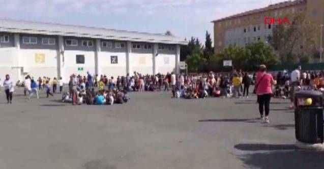 İstanbul'daki bazı okullar tedbir amaçlı boşaltıldı