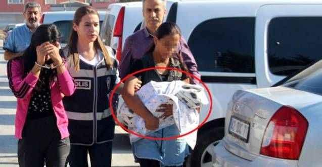 Kucağındaki bebekten bile utanmadı! 3 gün arayla suçüstü yakalandı