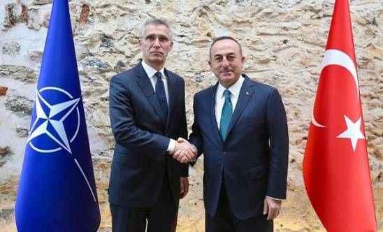 Çavuşoğlu, NATO Genel Sekreteri'nin gözüne bakarak söyledi: Açık destek istiyoruz