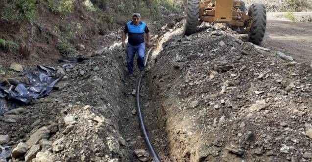 Fakırcalı Mahallesi'niniçme suyu hattı yenilendi