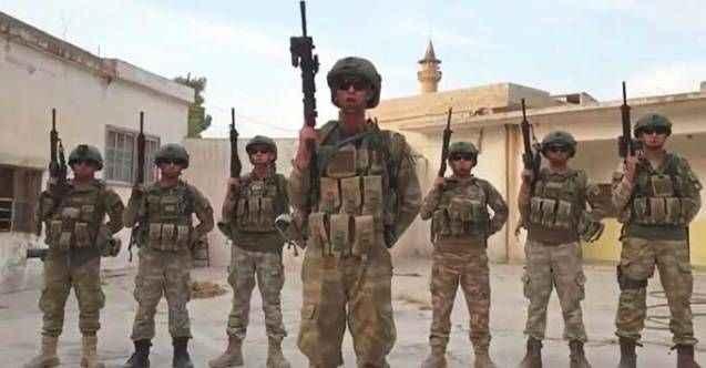Komandolar, Tel Abyad'dan milli sporculara selam gönderdi