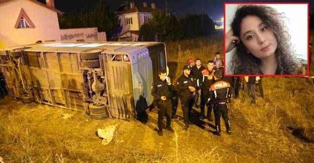 Akılamaz kaza! Açılan kapıdan fırlayan üniversiteli genç kız can verdi