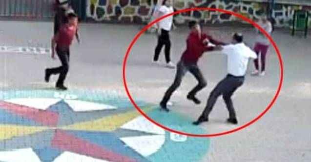 Öğretmenin okul bahçesinde dövülmesi olayında yeni gelişme
