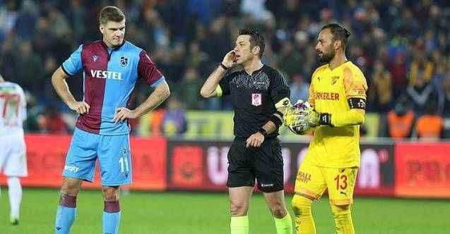 Trabzonspor cephesinden Fırat Aydınus ve VAR hakemine tepki