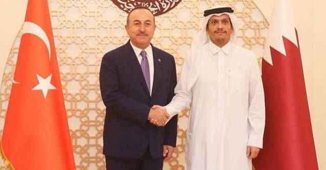 Katar'da bir Alanyalı: Bakan Çavuşoğlu'ndan kritik görüşme
