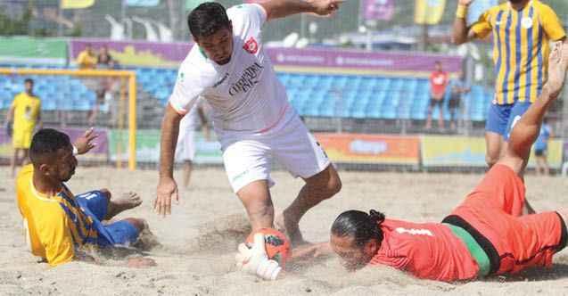 Plajda finalin adı: Alanya Belediyespor - Erciş Belediyespor