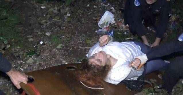Uçuruma yuvarlanan genç kadının polisten isteği duyanları şaşırttı